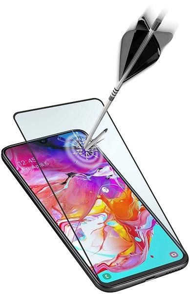 Cellularline Capsule pro Samsung Galaxy A71 černé Ochranné