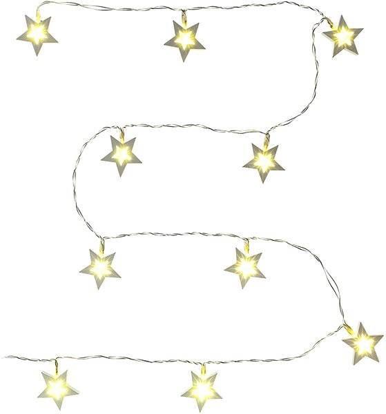 Stern Weihnachtsbeleuchtung.Rxl 139 Weißen Fünfzackigen Stern Weihnachtsbeleuchtung Alza At