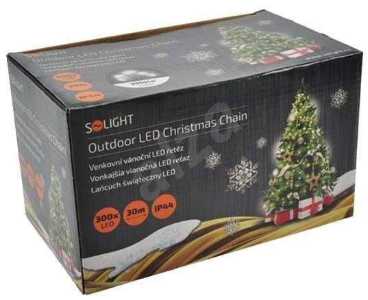 Weihnachtsbeleuchtung Led Outdoor.Solight Led Outdoor Kette 300 Leds Weiß Weihnachtsbeleuchtung