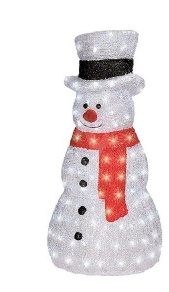 Weihnachtsbeleuchtung Schneemann Außen.Solight Led Schneemann Draussen 160 Led Weihnachtsbeleuchtung