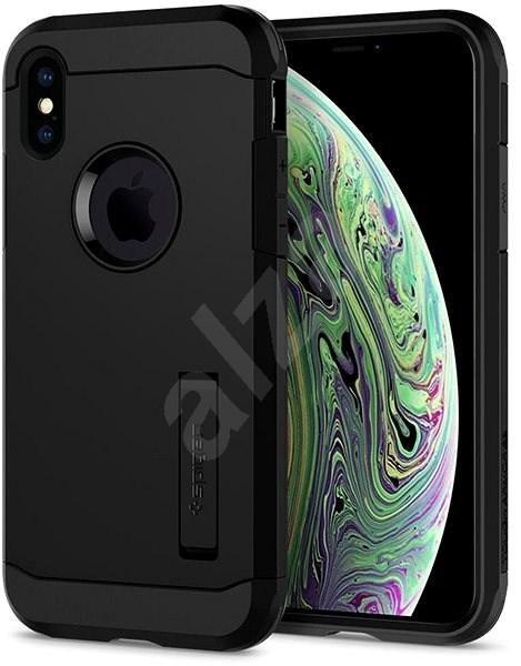 Spigen Tough Armor XP Black iPhone XS/X - Silikonetui