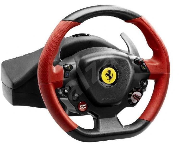lenkrad thrustmaster ferrari 458 spider racing wheel f r. Black Bedroom Furniture Sets. Home Design Ideas
