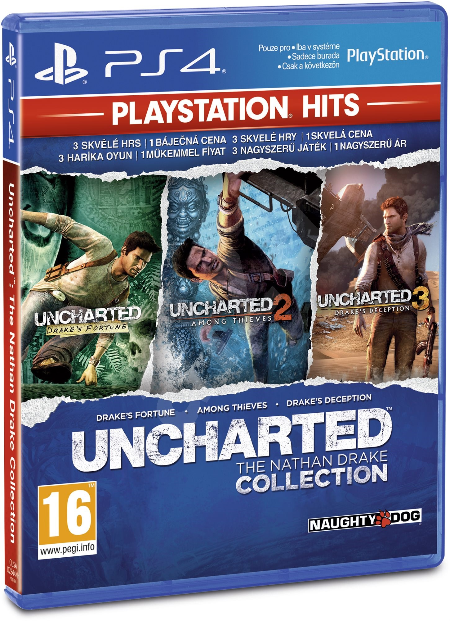 uncharted the nathan drake collection ps4 spiel f r die. Black Bedroom Furniture Sets. Home Design Ideas