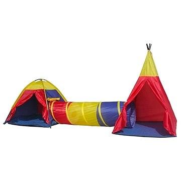 Zelte mit einem Tunnel